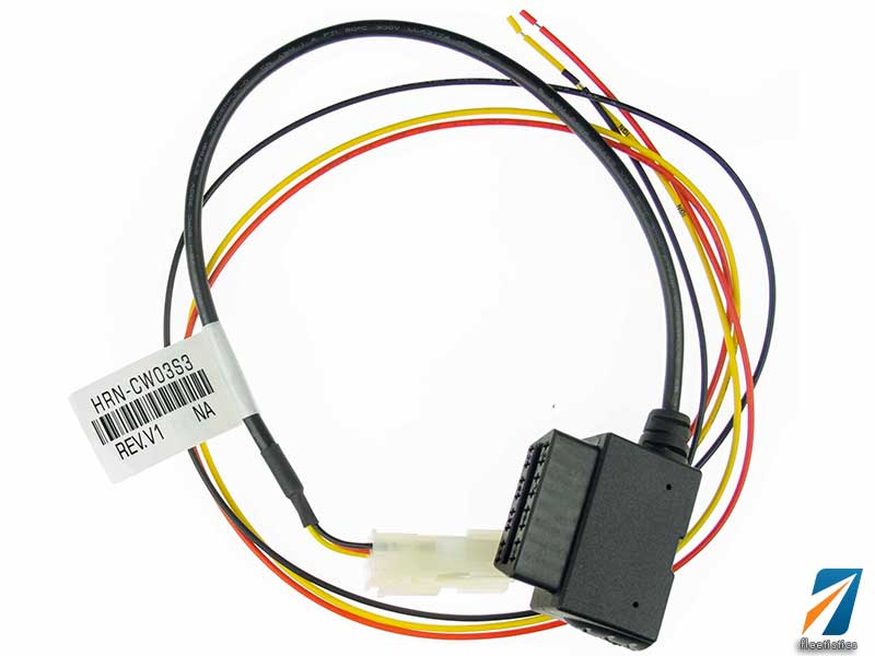 3 Wire Vehicle Tracking Harness