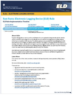 ELD Fact Sheet Image