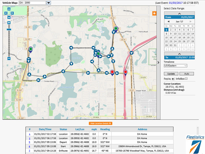 Basic Tracking Maps Simple Reports Map App As Low As 995 - Us-track-map-it