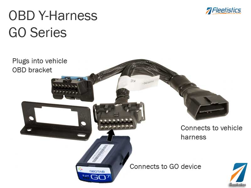 Fleetistics | OBD Y-Harness | GO Series