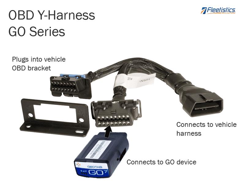 obd geotab y harness gps tracker  car track  gps