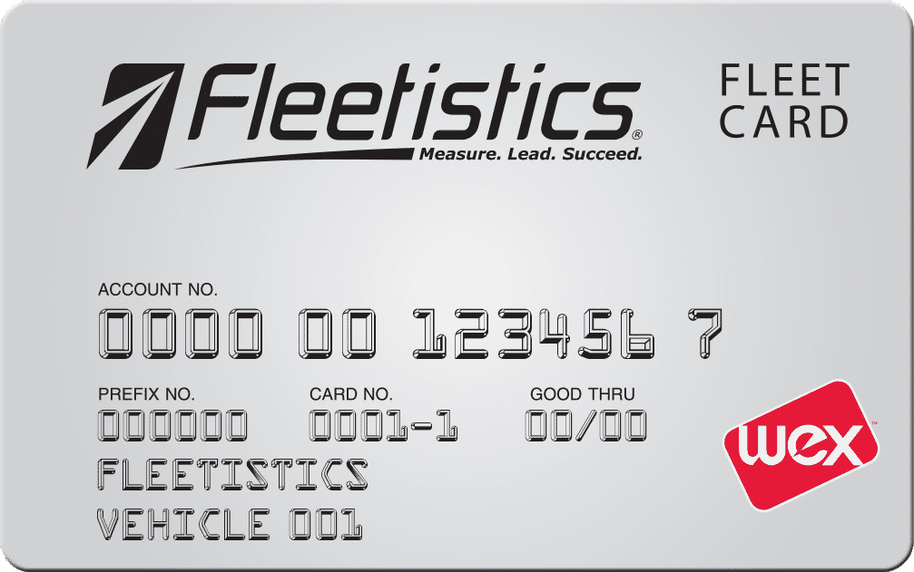 Fleetistics Fuel Card by WEX