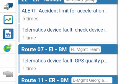 Geotab Mobile - Engine Diagnostics