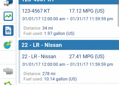 Geotab Mobile - Fleet Fuel