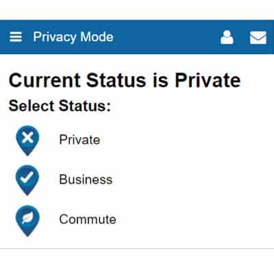 Privacy Mode Mobile App