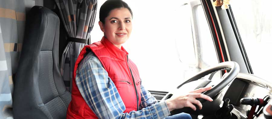 Female Trucker Safety