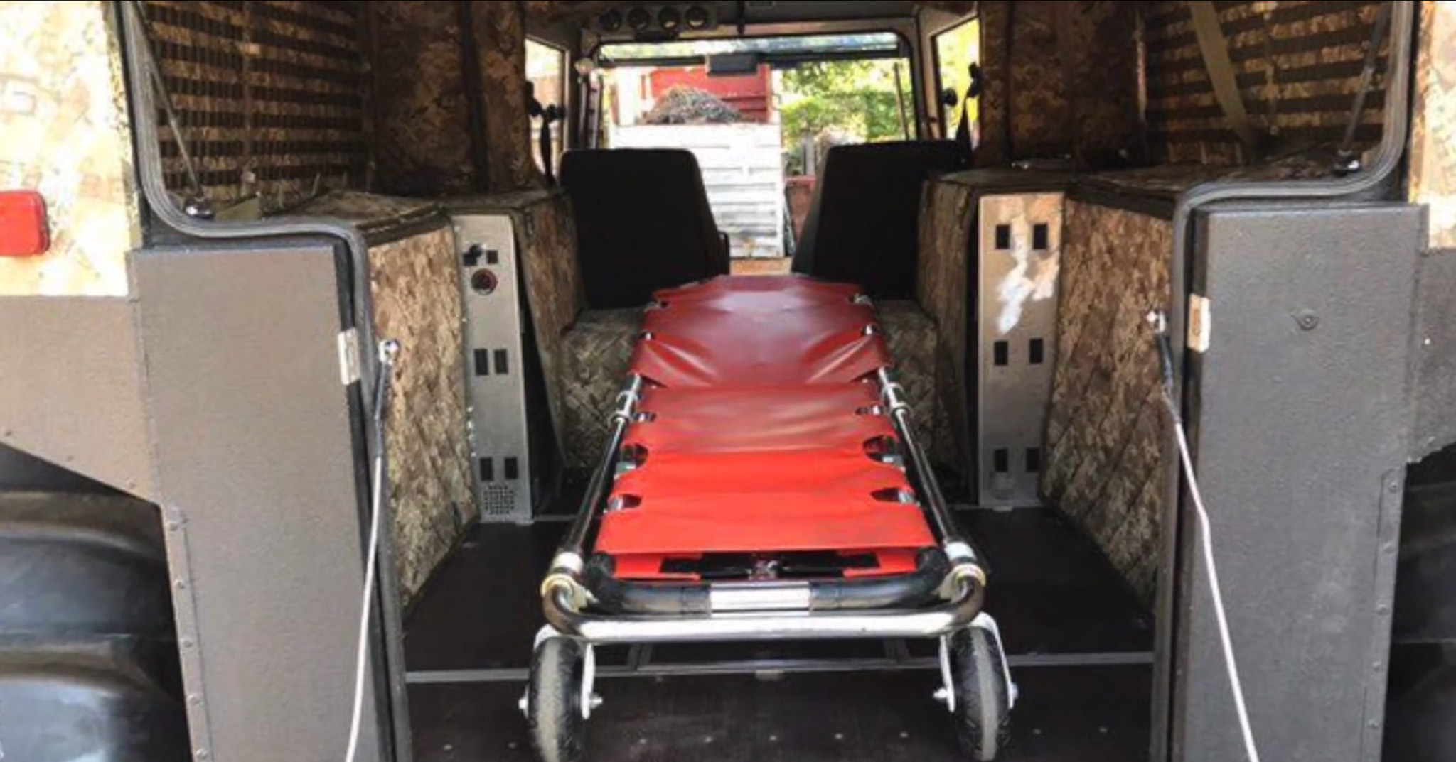 Sherp-ATV-Search and Rescue Stretcher