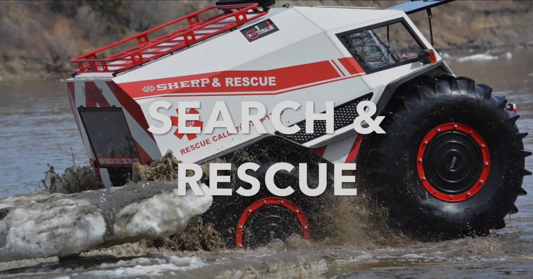 Sherp-ATV-Search and Rescue