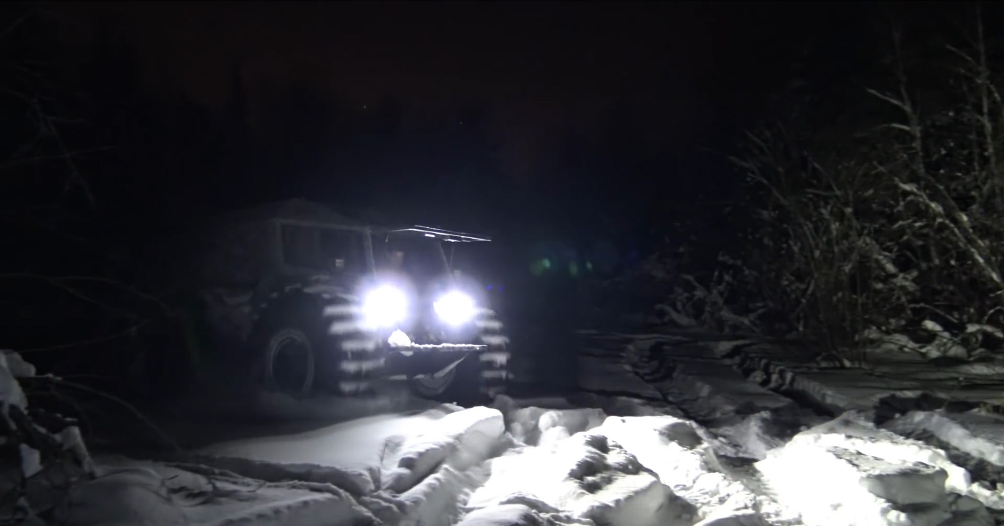 Sherp-ATV-Night Driving