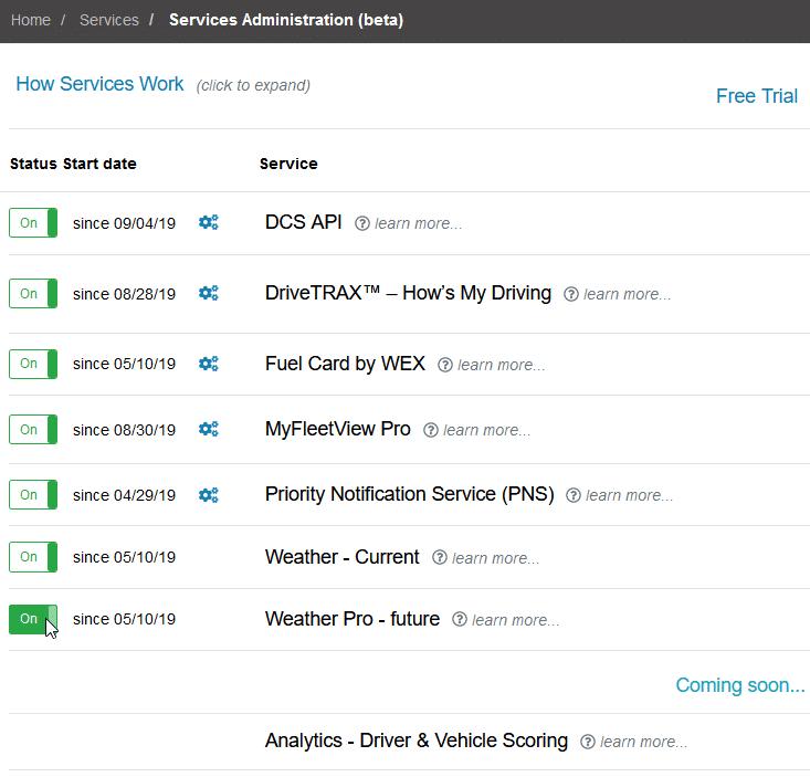 Adding Services Step 2
