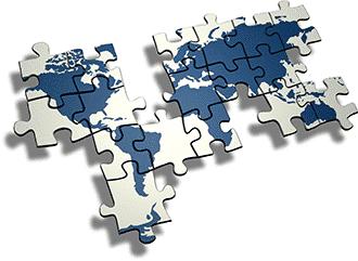 puzzle-world-map