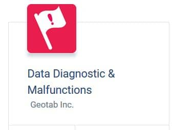 Data Diagnostic & Malfunctions report