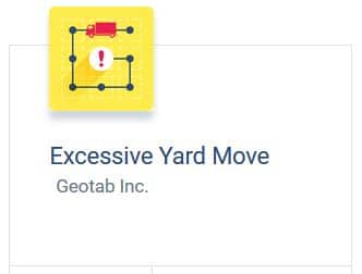 Excessive Yard Moves