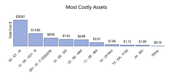 Most Costly Assets
